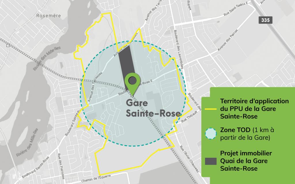 TOD et PPU Gare Sainte-Rose